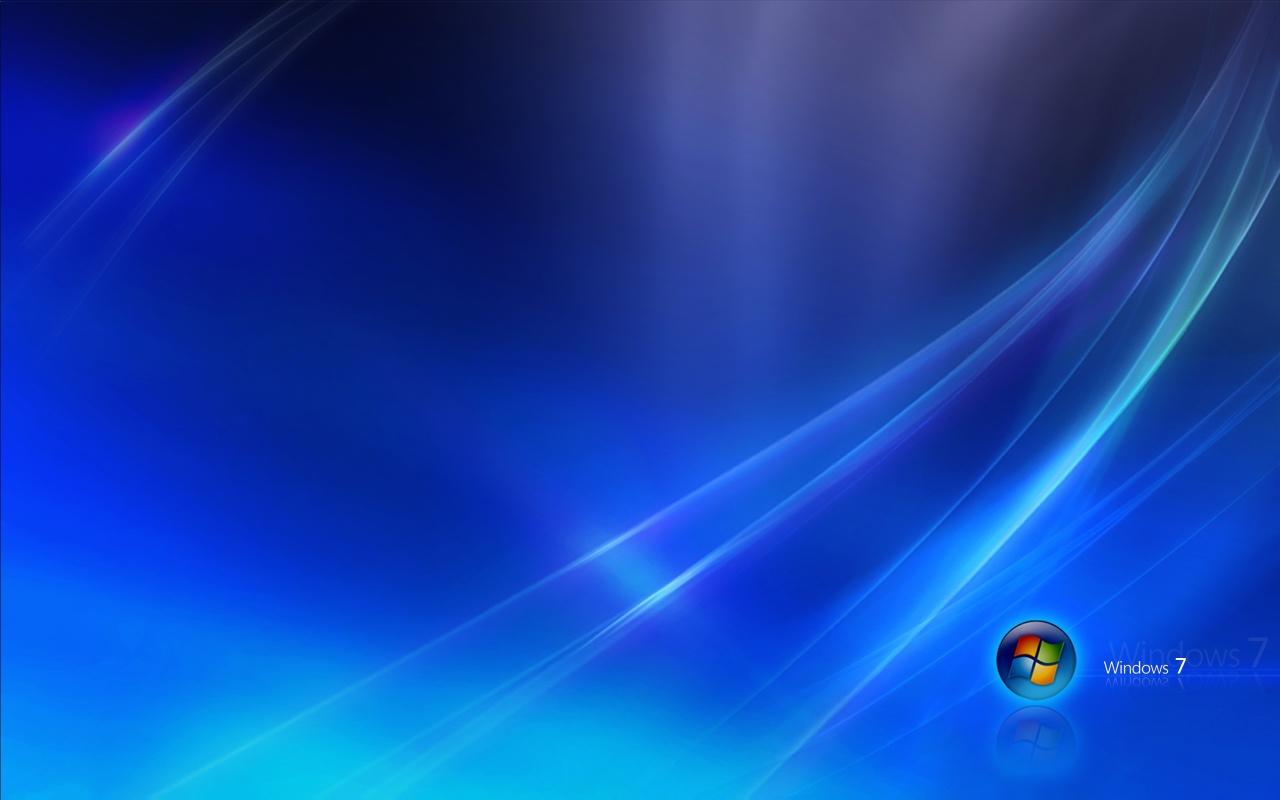Windows 7 Blue Dark Wallpapers HD Wallpapers 1280x800