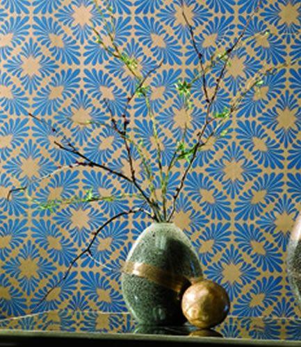 VELLA Crown Wallpaper Fabrics Toronto Vancouver Montreal 433x500