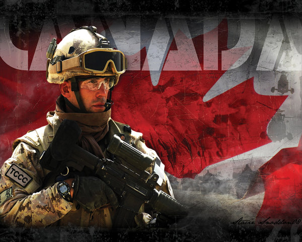 Canadian Forces by P3RF3KT 600x480