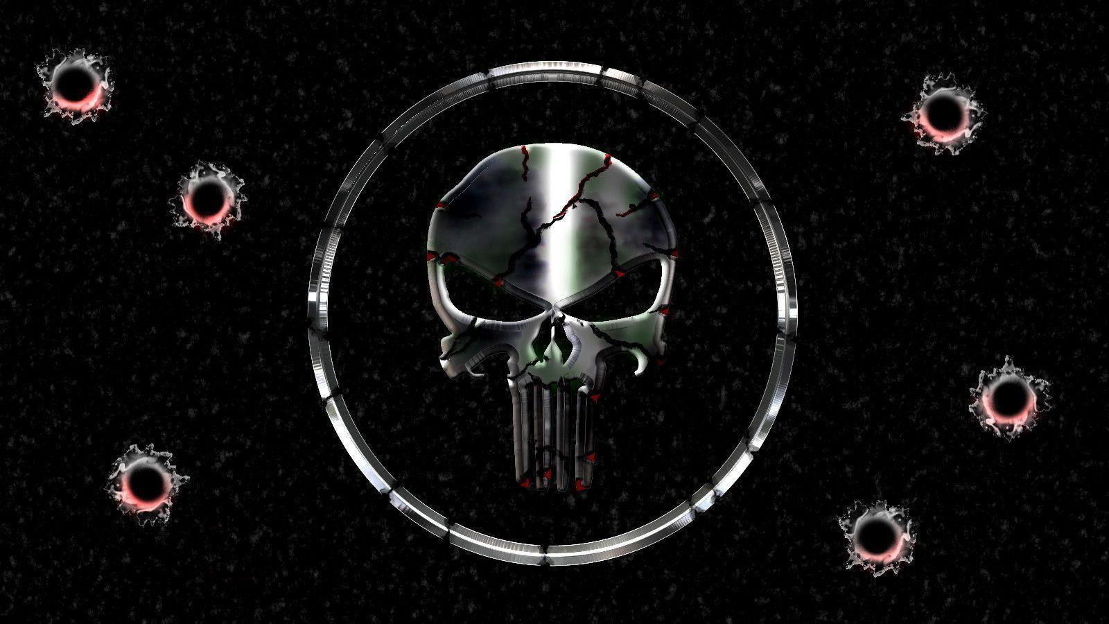 The Punisher Skull Wallpapers - Wallpaper Cave