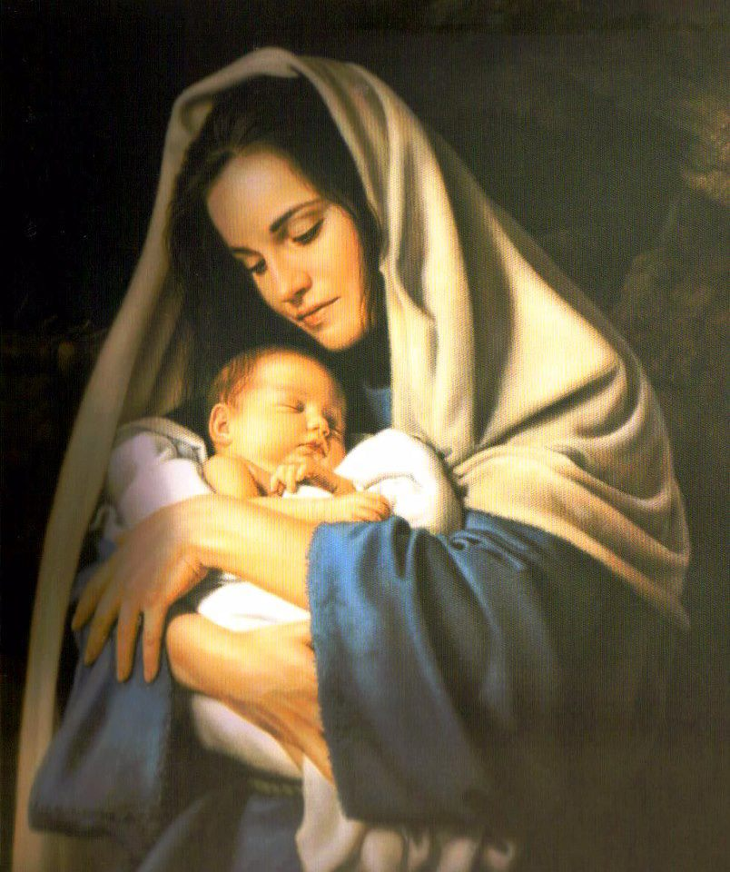 804x960px Baby Jesus With Mother Mary Wallpapers Wallpapersafari