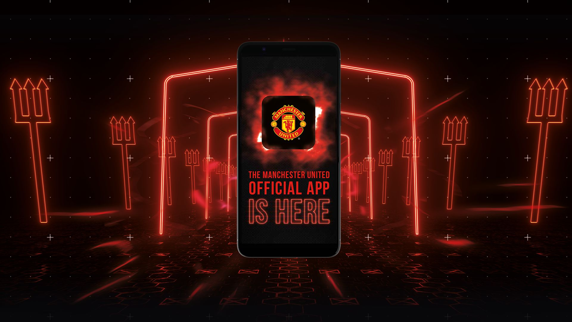 Man Utd Official App iOS Android Mobile Tablet App 1920x1080