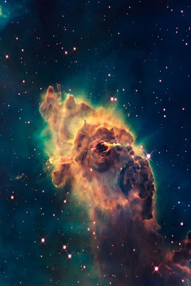 Nebula Explosion Wallpaper   iPhone Wallpapers 640x960
