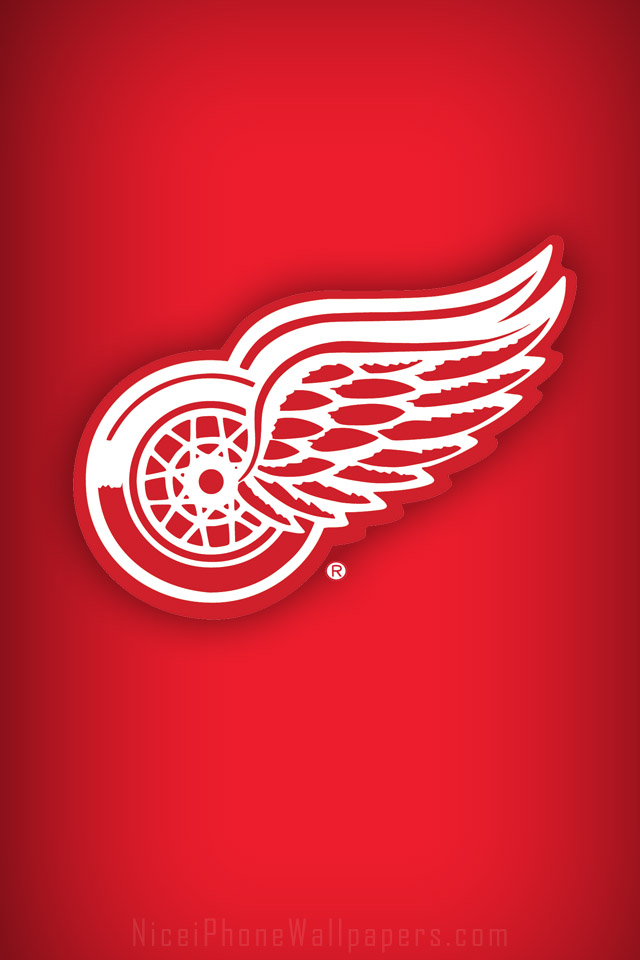 Detroit Red Wings wallpaper for iPhone 44s 640x960