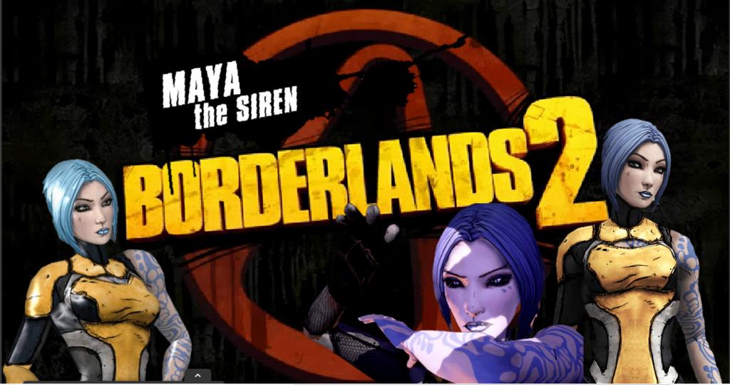 Borderlands 2 Maya Wallpaper by AbbyGamer 1024x540