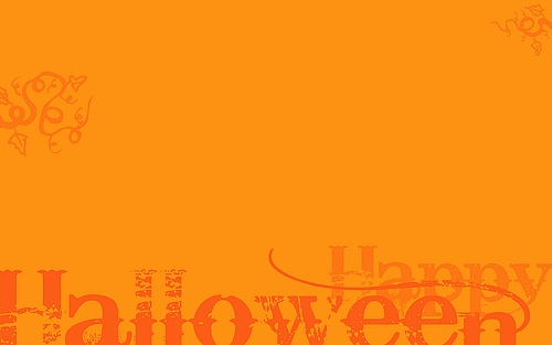 orange its simple yet its fun A nice Halloween desktop 500x313