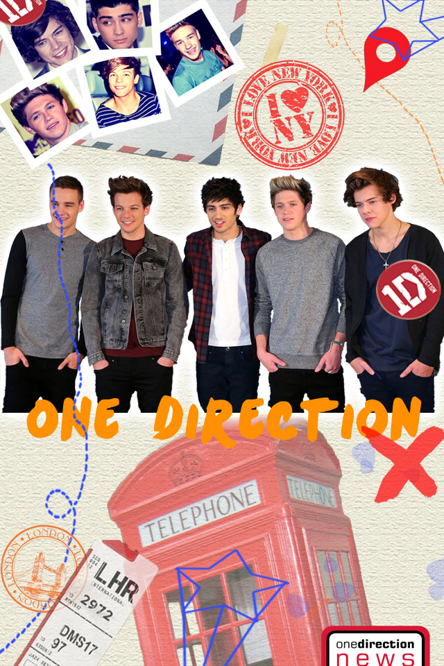 49 One Direction Wallpaper For Phone On Wallpapersafari