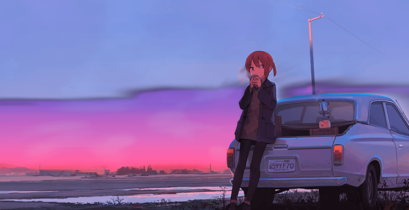 Chill Anime Wallpapers on WallpaperDog 1366x703