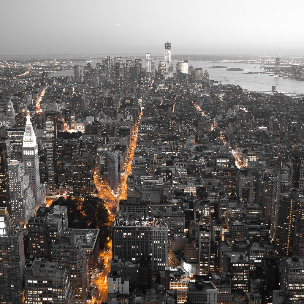 New York City Overview 4K Wallpaper Image And Save Image As Wide 1024x1024