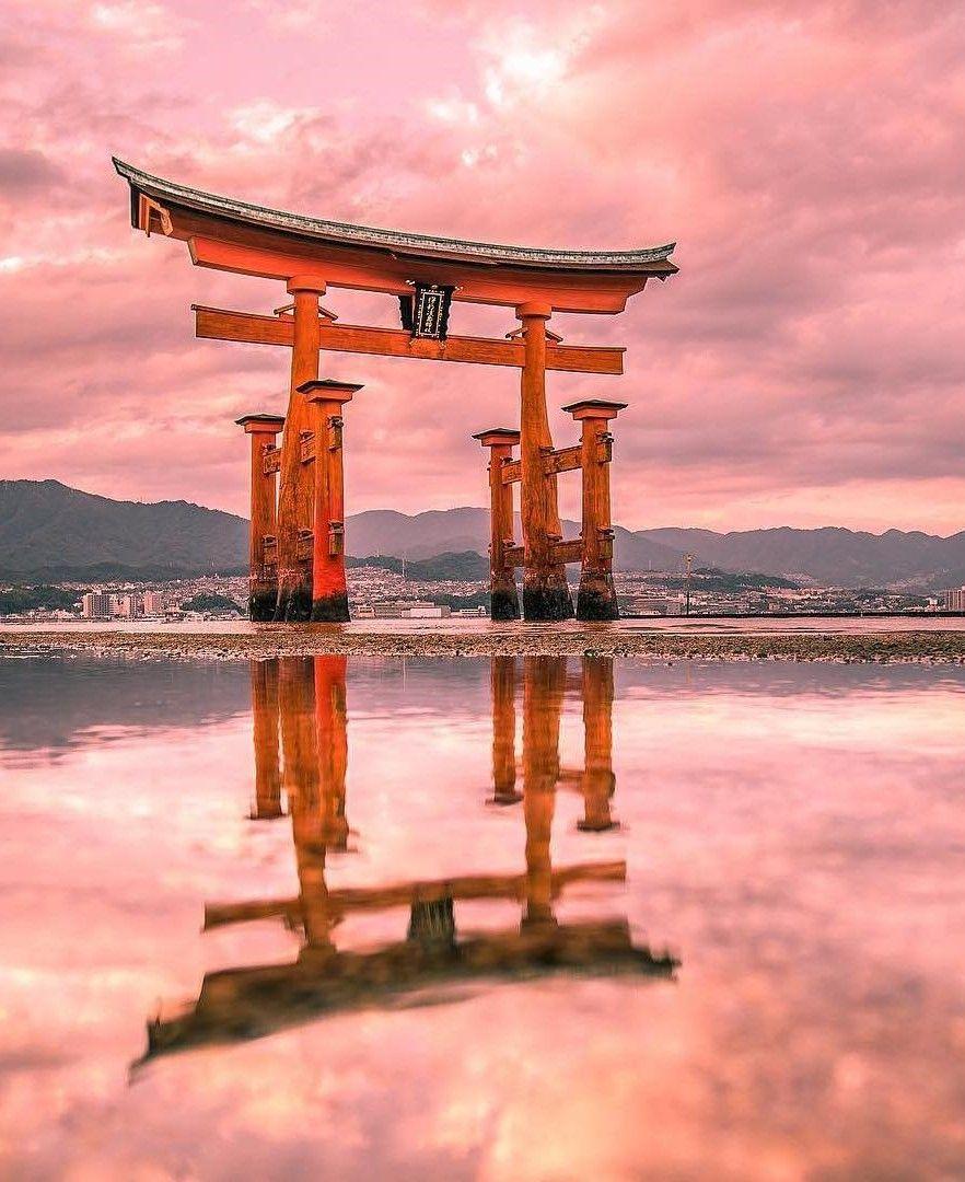 Itsukushima Shrine Miyajima Hiroshima Japan Japanese Culture 882x1080