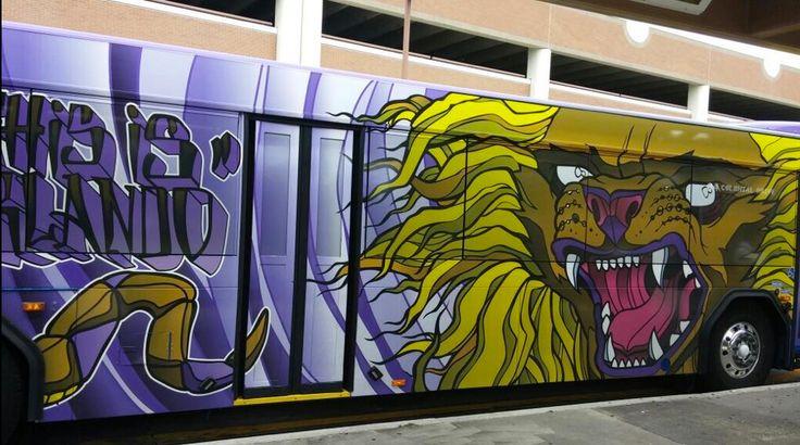 Lynx bus with OCSC lion Orlando City MLS Pinterest 736x410