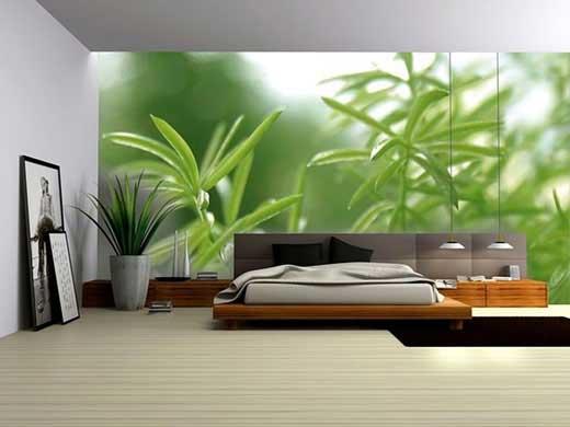 green wall bedroom decorating ideas 520x390