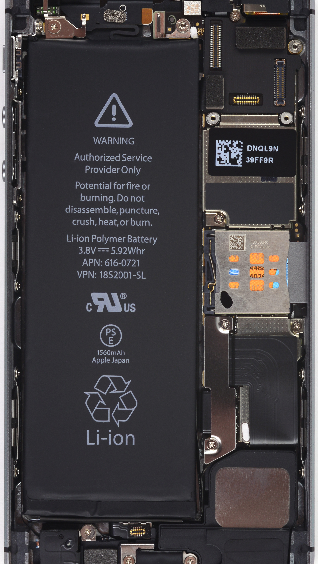 iPhone 5sc and iMac Internals Wallpapers iFixit 1280x2272