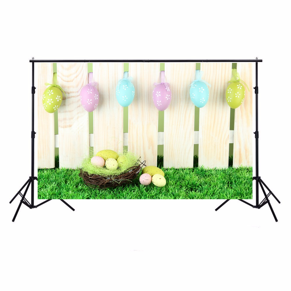 Easter Eggs Photographic Backgrounds Photo Backdrops Easter Toile 1000x1000