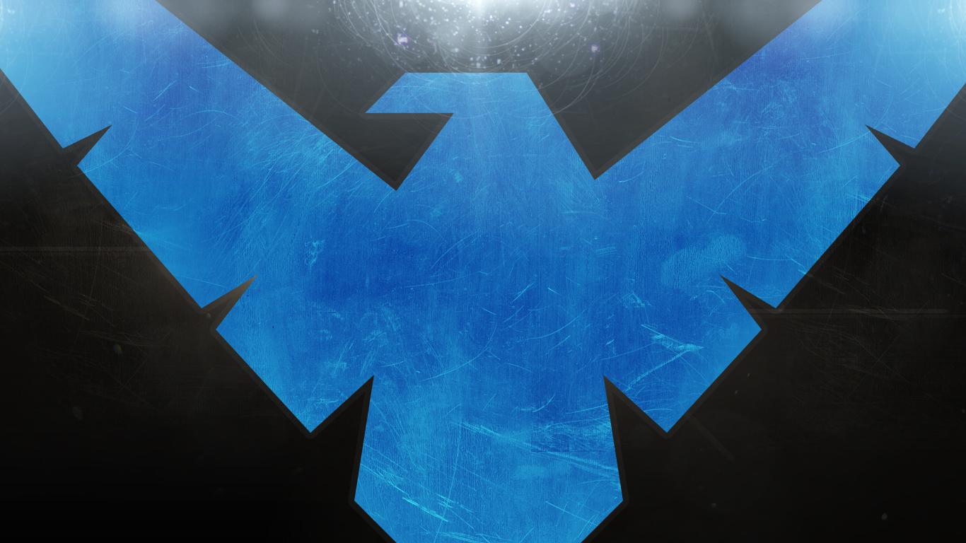 Nightwing desktop background   Tahvvys Thingys   Gallery   vVv Gaming 1366x768
