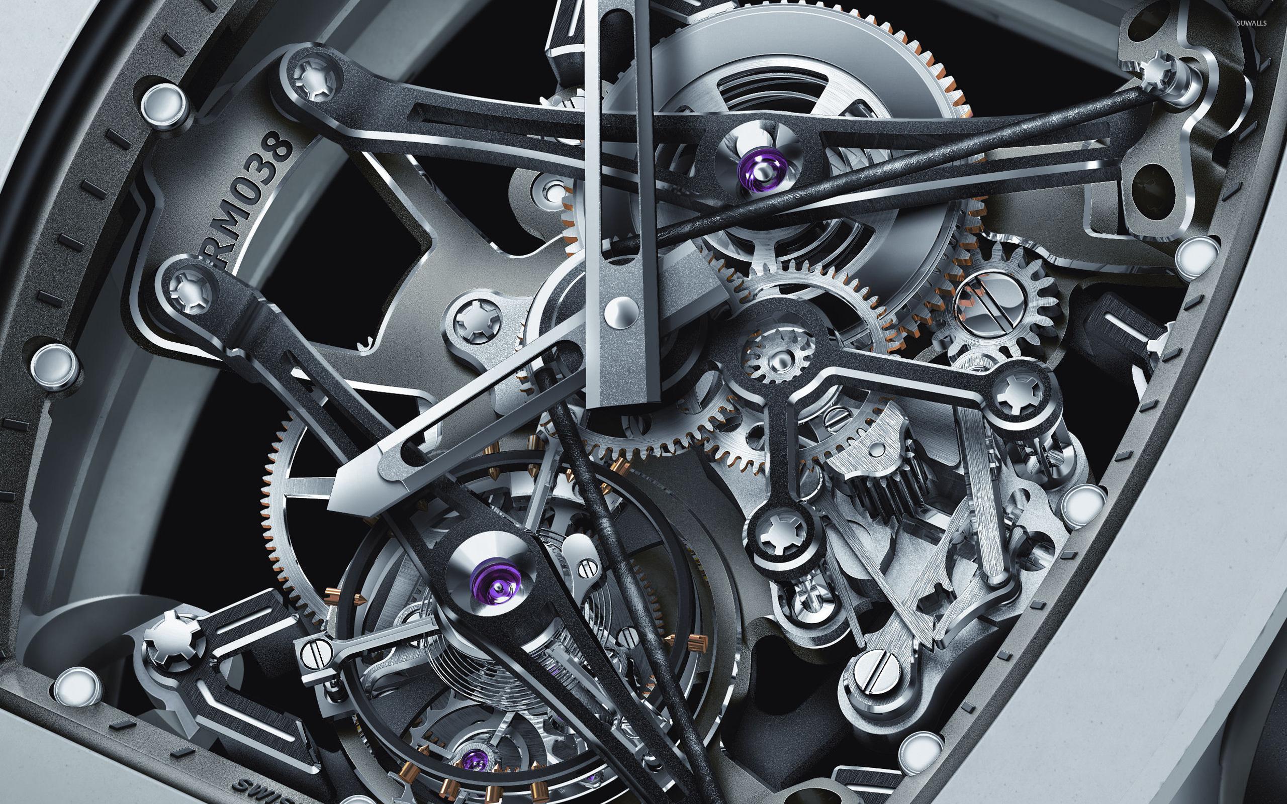 Watch mechanism wallpaper   Artistic wallpapers   8800 2560x1600