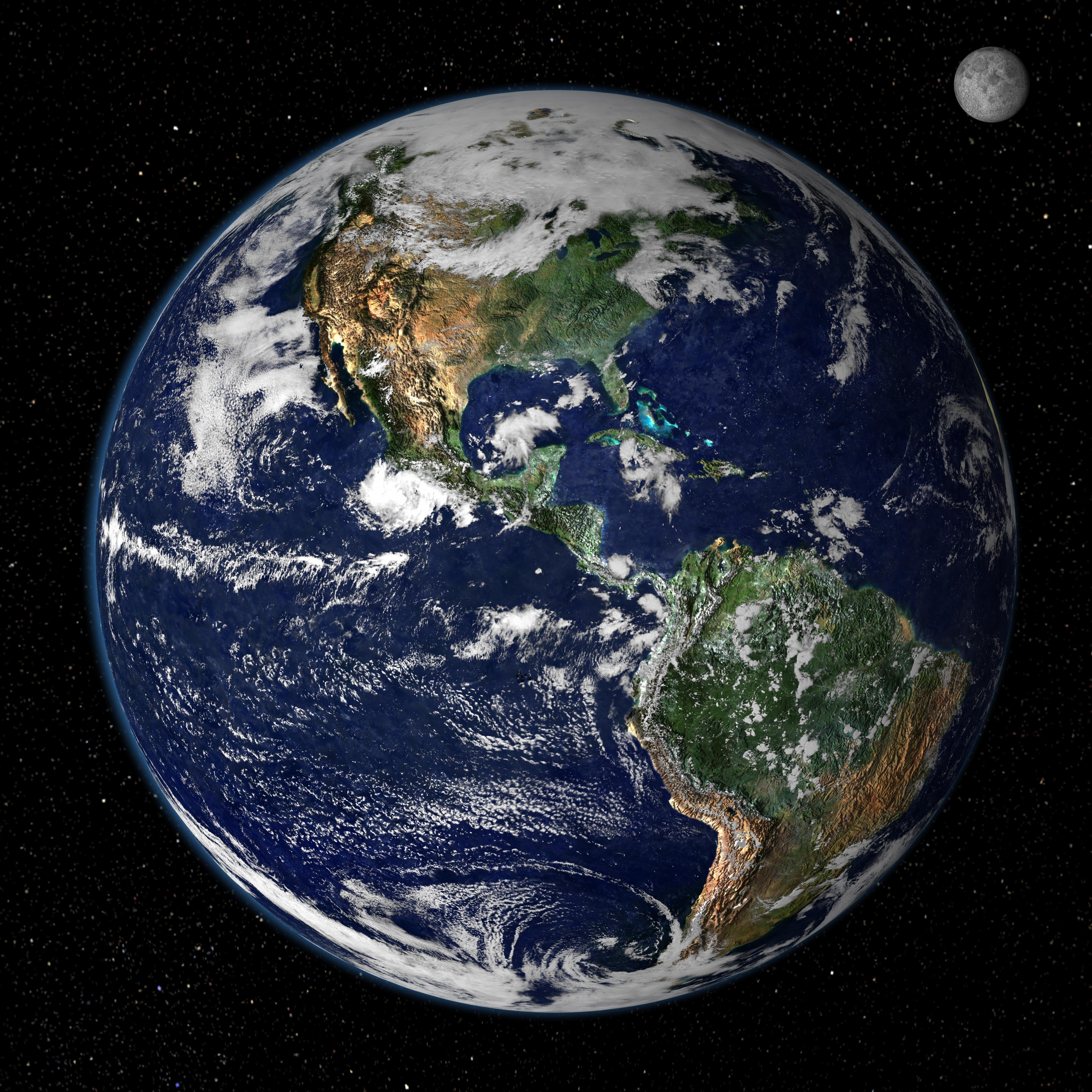 NASA Earth Observatory 4096x4096