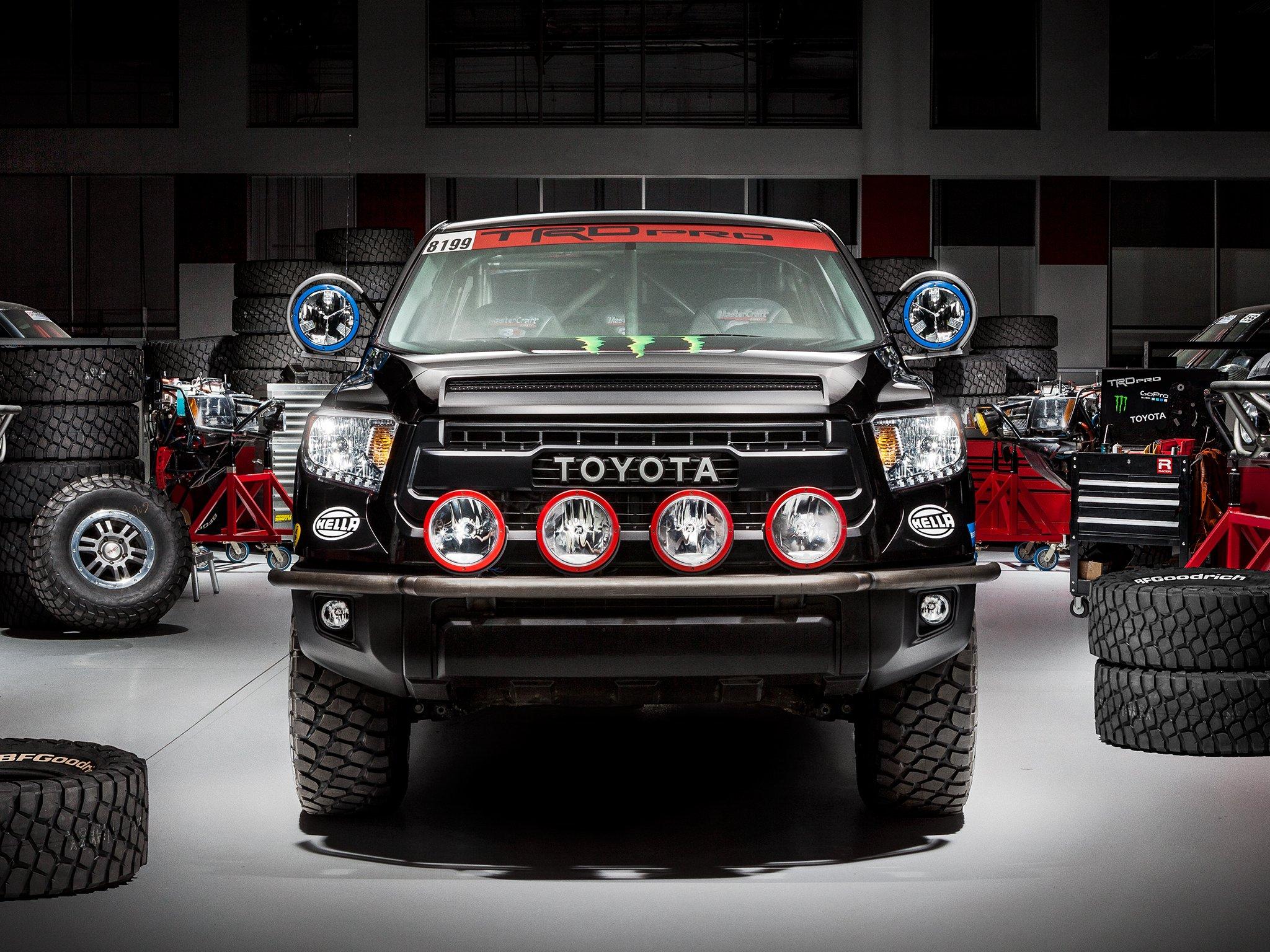 TRD Toyota Tundra Pro Baja offroad race racing pickup 4x4 wallpaper 2048x1536