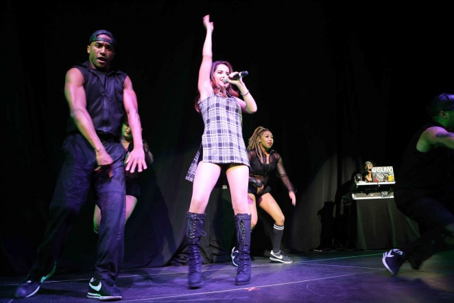 Becky G Performs Live at The Tabernacle  15   GotCeleb 662x441