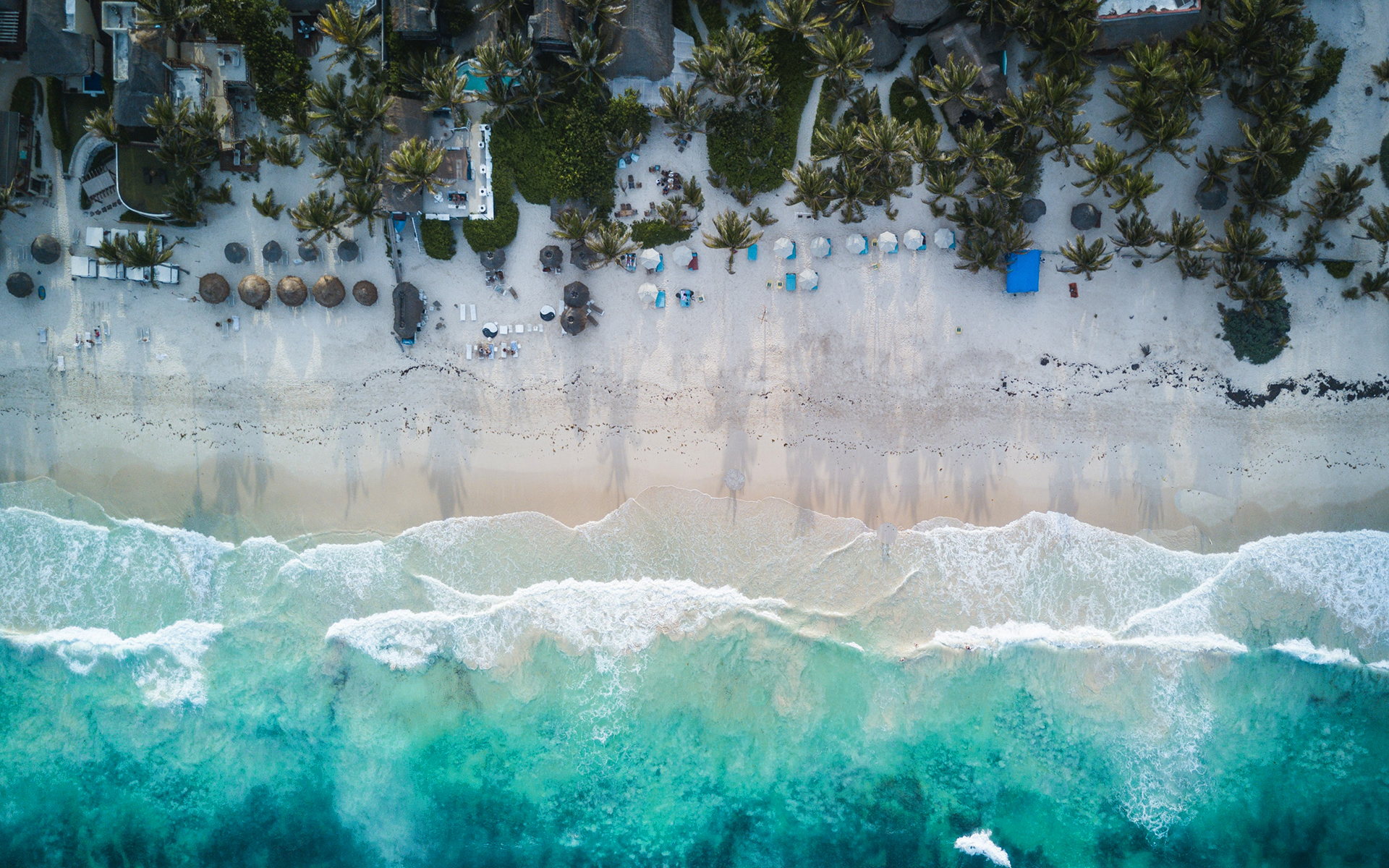 Daily Wallpaper Tulum Beach Mexico I Like To Waste My Time 1920x1200
