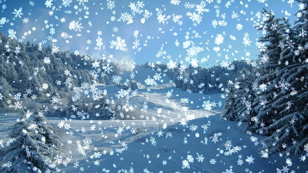 Animated Winter Desktop Screensaver Whats Trending Today 1280x720