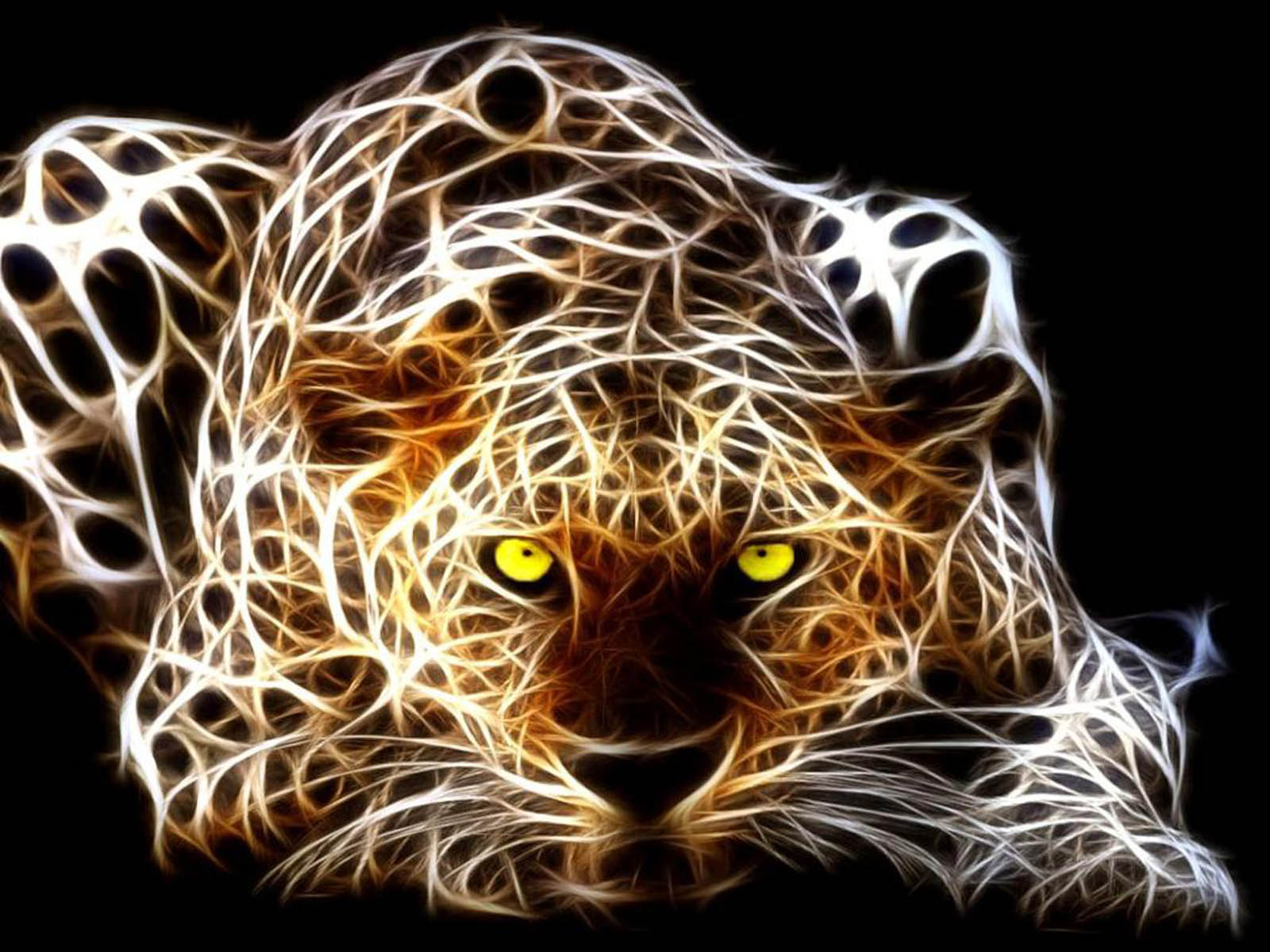 wallpapers Tiger 3D Wallpapers 1600x1200