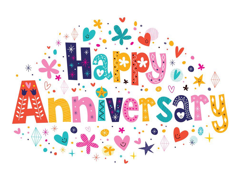 Happy Anniversary PNG Images Transparent Download PNGMartcom 1000x773