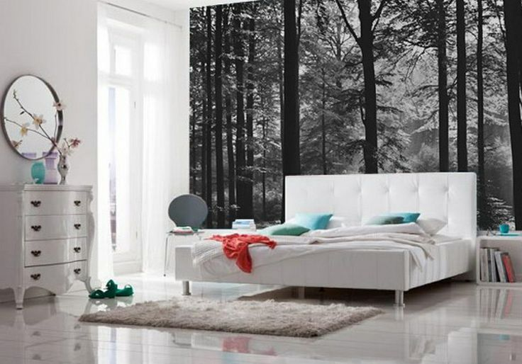 Bedroom Bliss Forest Wallpaper Bedrooms And Forests 736x514