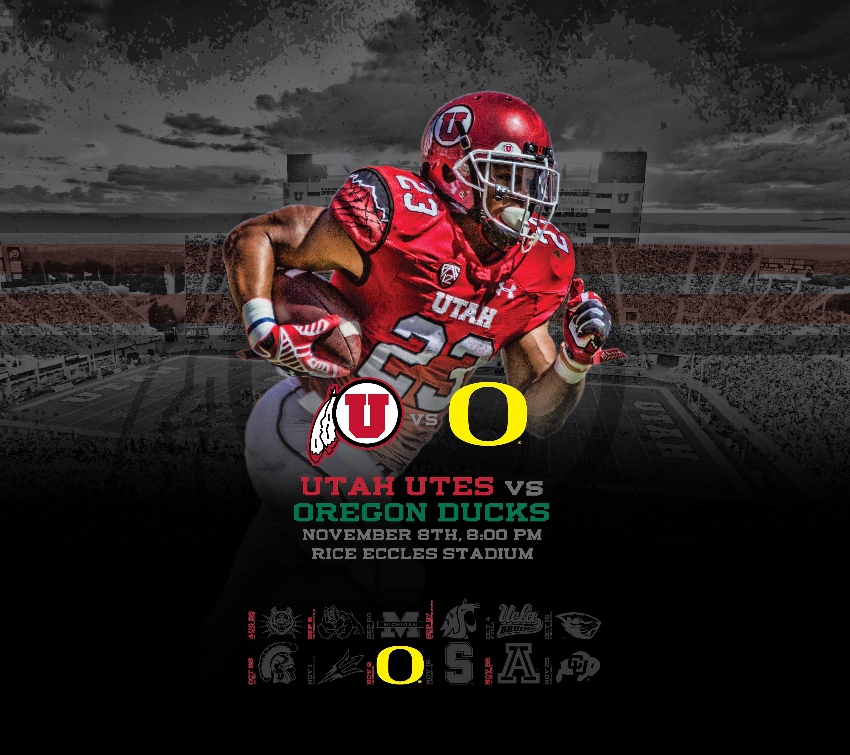 Oregon Ducks Backgrounds: Utah Utes Desktop Wallpaper