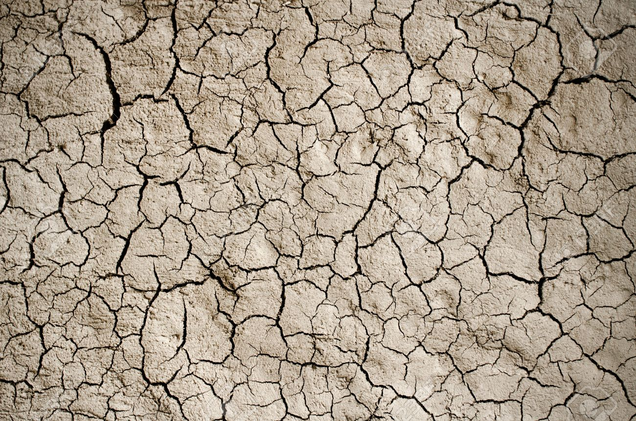 Dry Cracked Earth Background Clay Desert Texture Stock Photo 1300x861