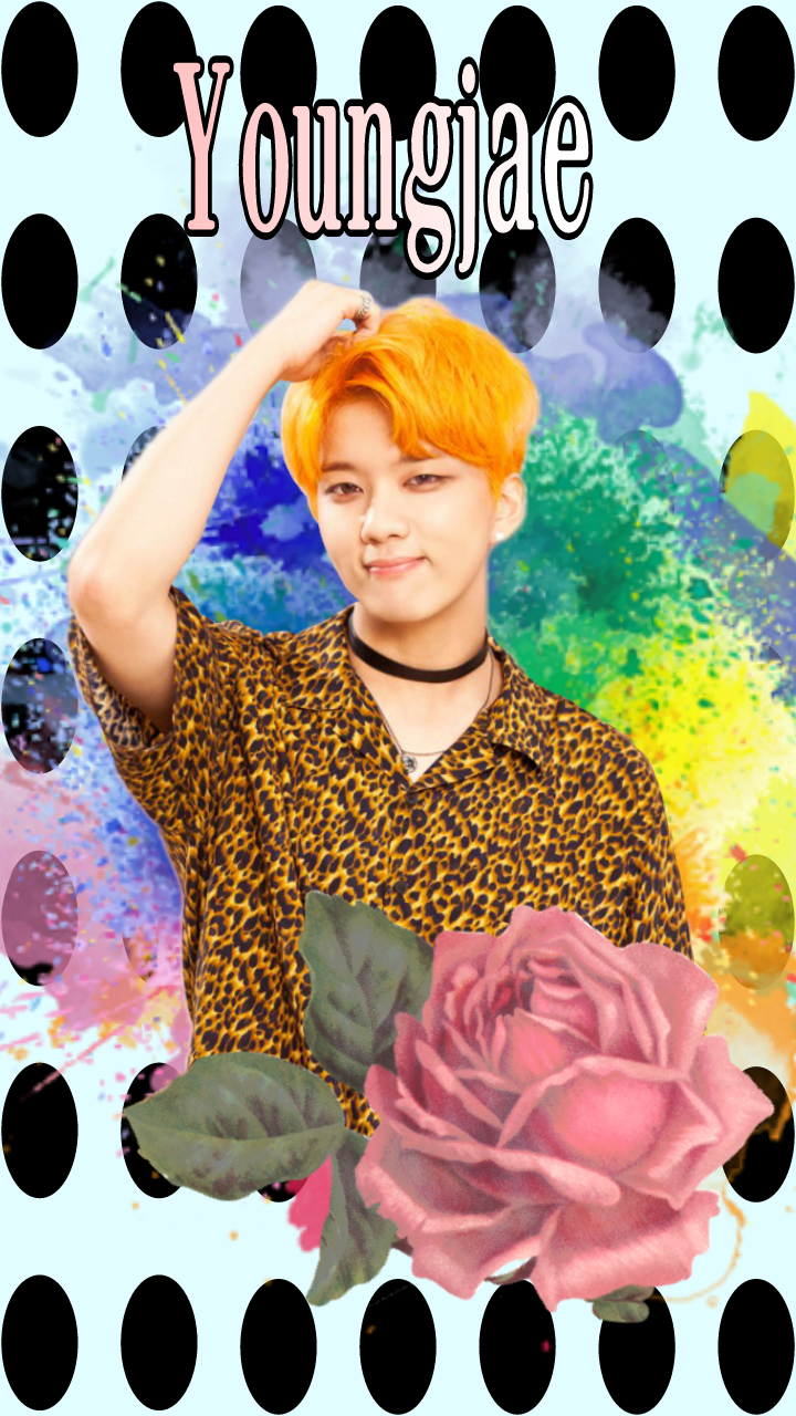 FreeToEdit bap BAP BAP Youngjae wallpaper background 720x1280