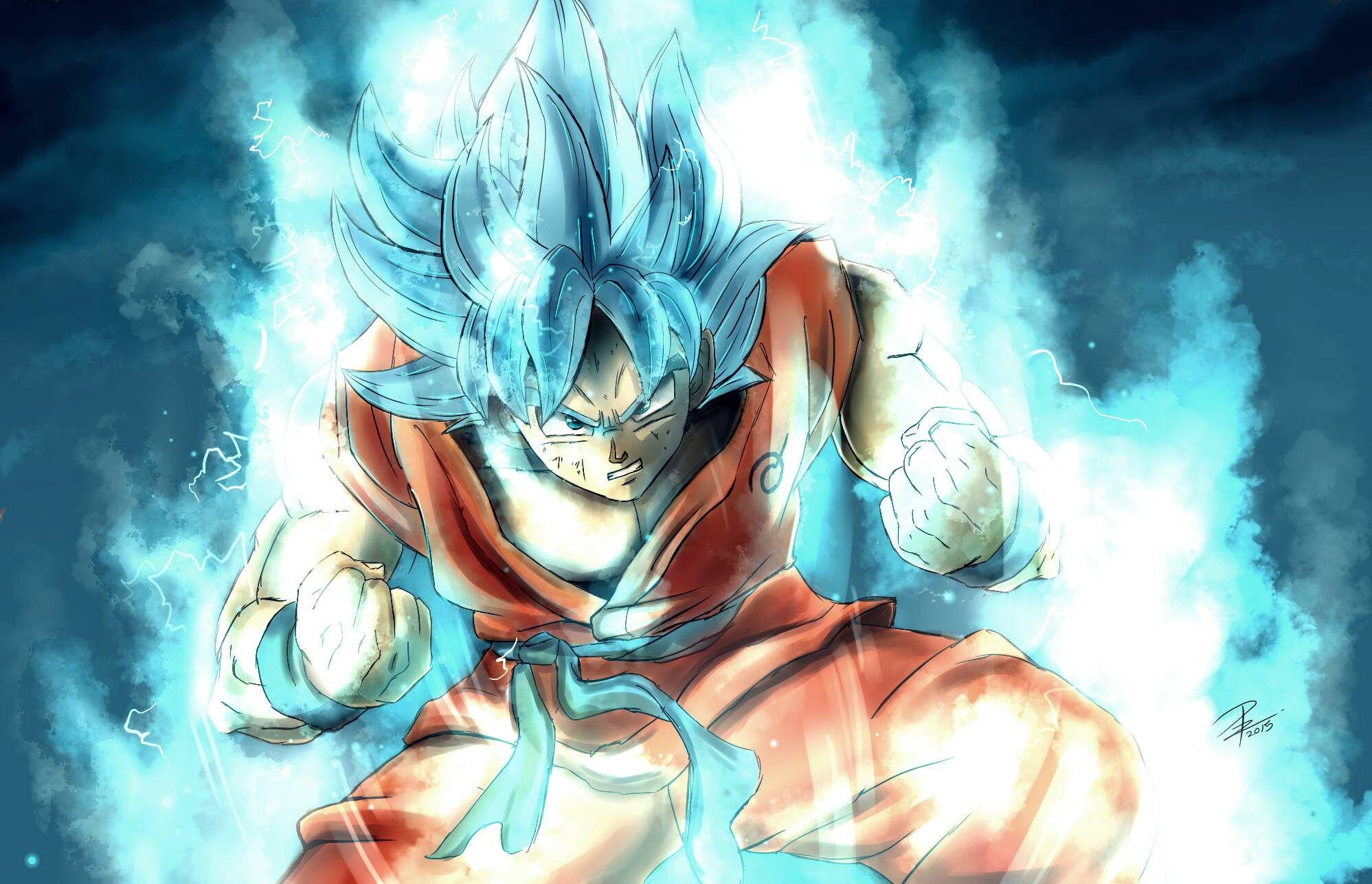 1081 Goku HD Wallpapers Background Images 1997x1287