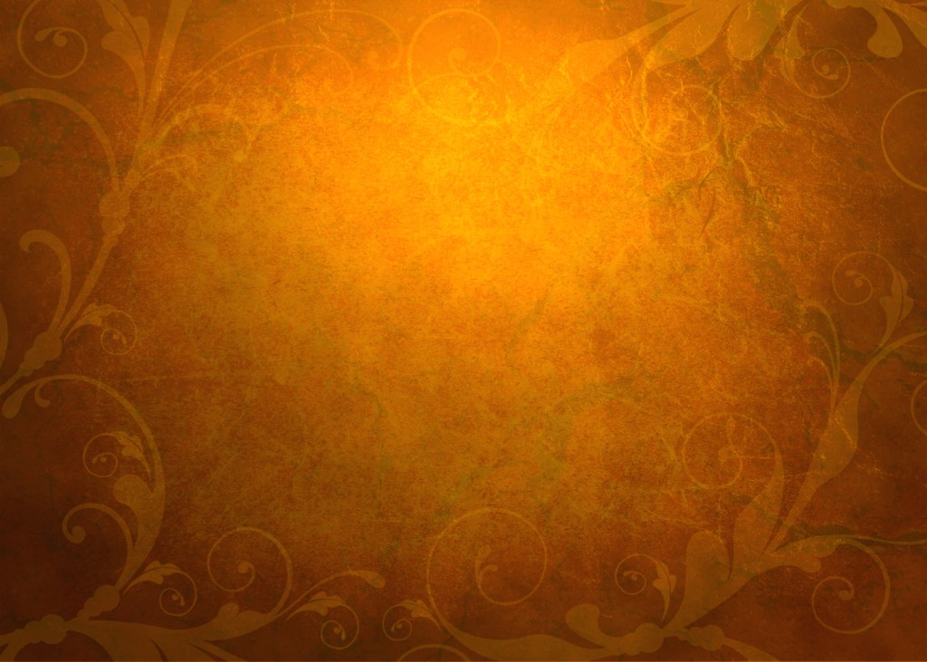 Floral Frame With Brown Backgrounds For PowerPoint   Border and 1024x731