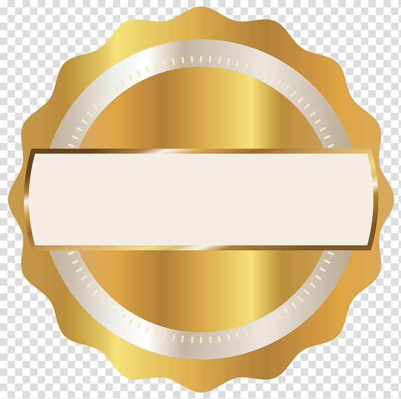 Scalloped edge round gold logo Badge Gold Seal Badge 800x796