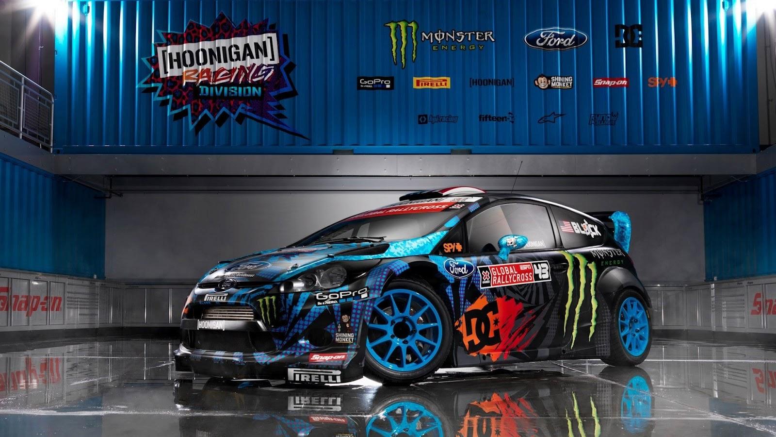 Ford Fiesta Monster Ken Block HD Wallpaper   HD Wallpapers 1600x900
