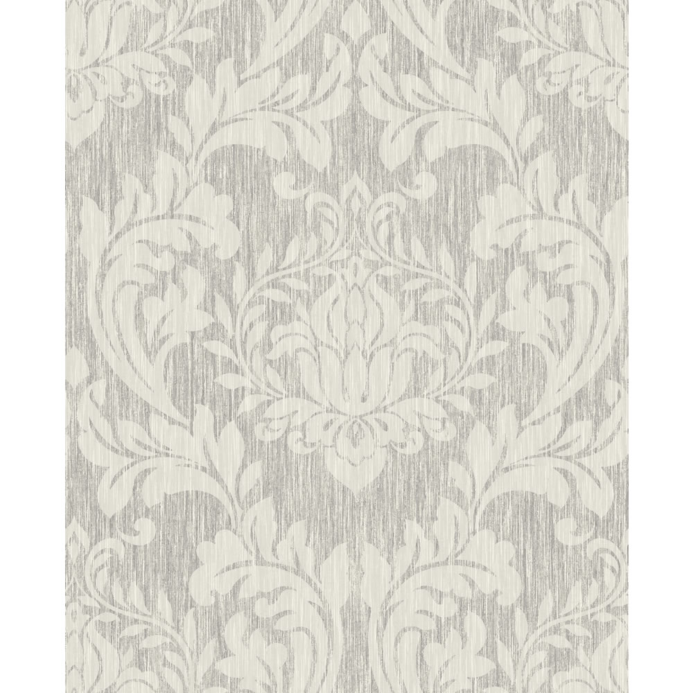 12f8d455a58 Wilko Best Damask Silver and White Wallpaper at wilkocom 1000x1000