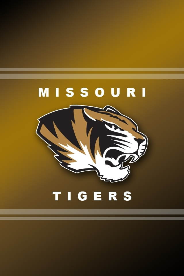 Missouri Tigers Logo HD Wallpaper for iphone 4iphone 4S 640x960