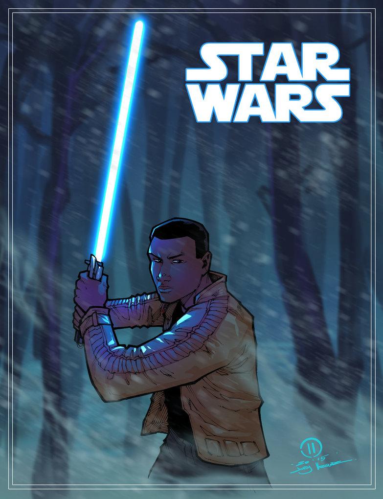 Finn Star wars the force awakens by JoeyVazquez 783x1020
