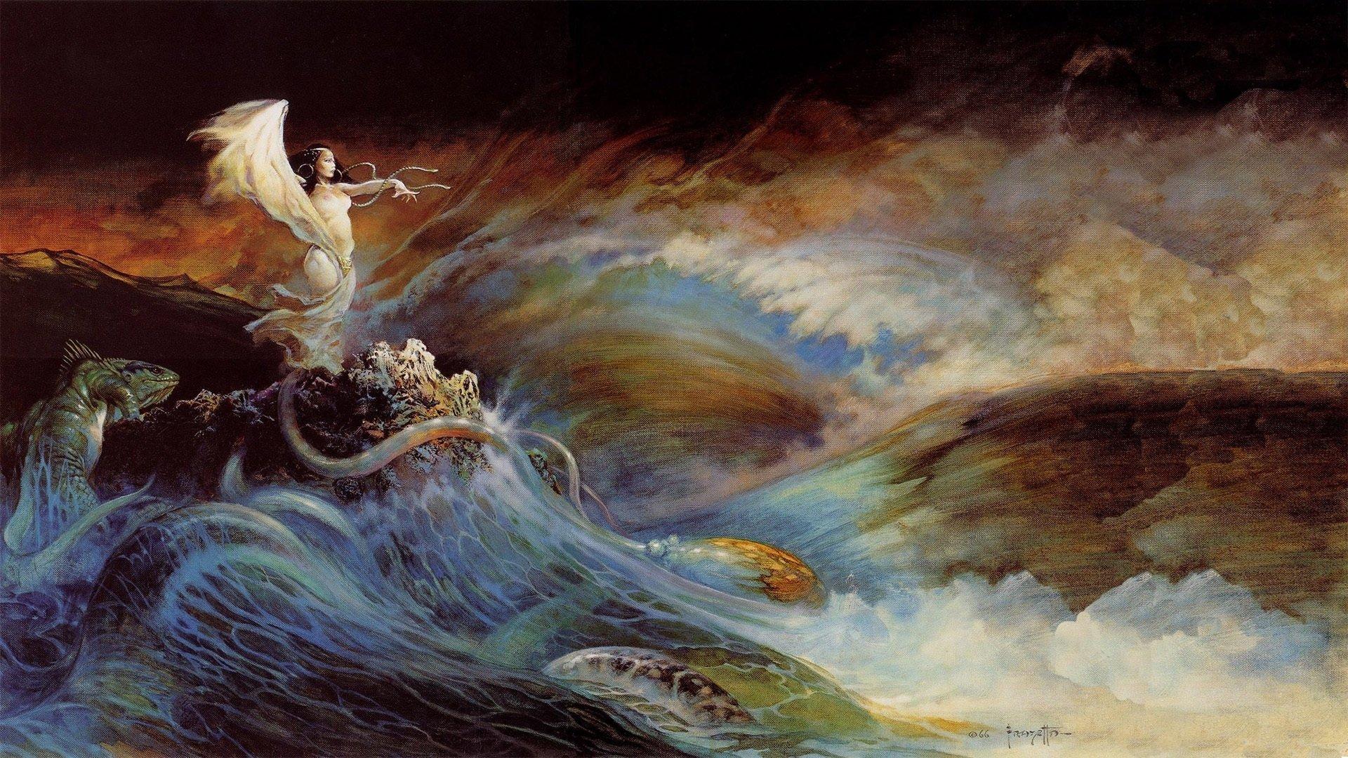 17 Wallpapers by Frank Frazetta 1920x1080