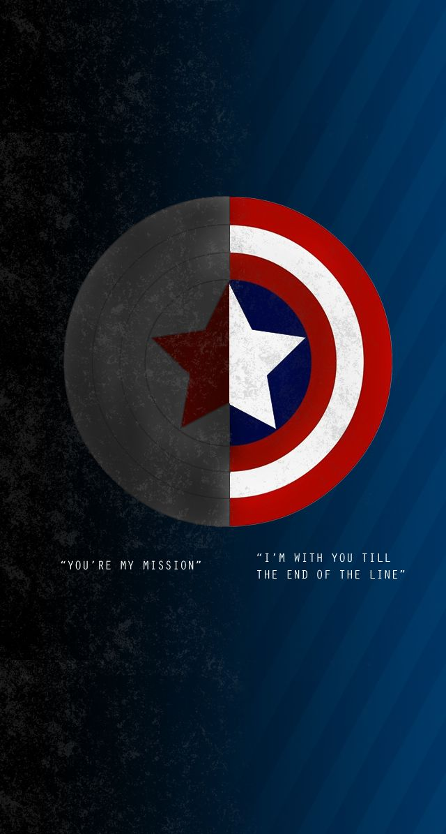 With you til the end of the line Superhero backgrounds Pinterest 640x1195