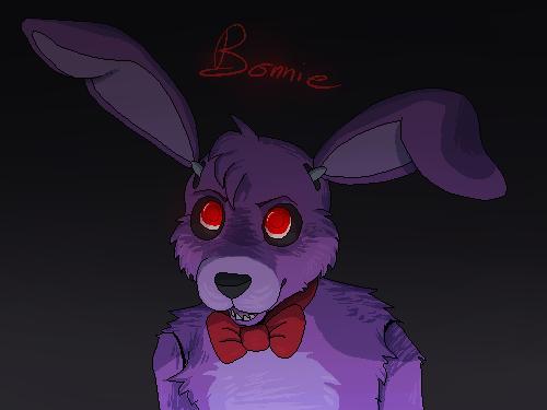 FNAF   Bonnie by LuxuryDeluxe 500x375