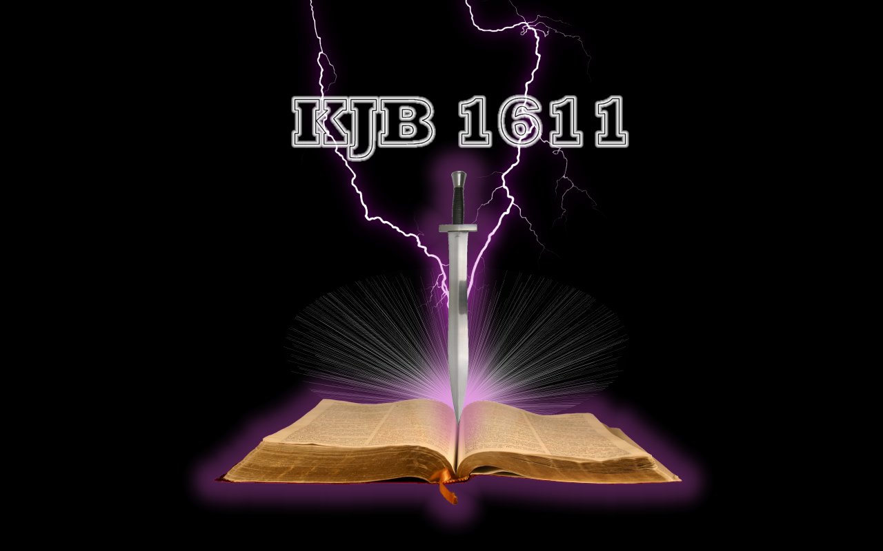 King James Bible Wallpaper 1280x800