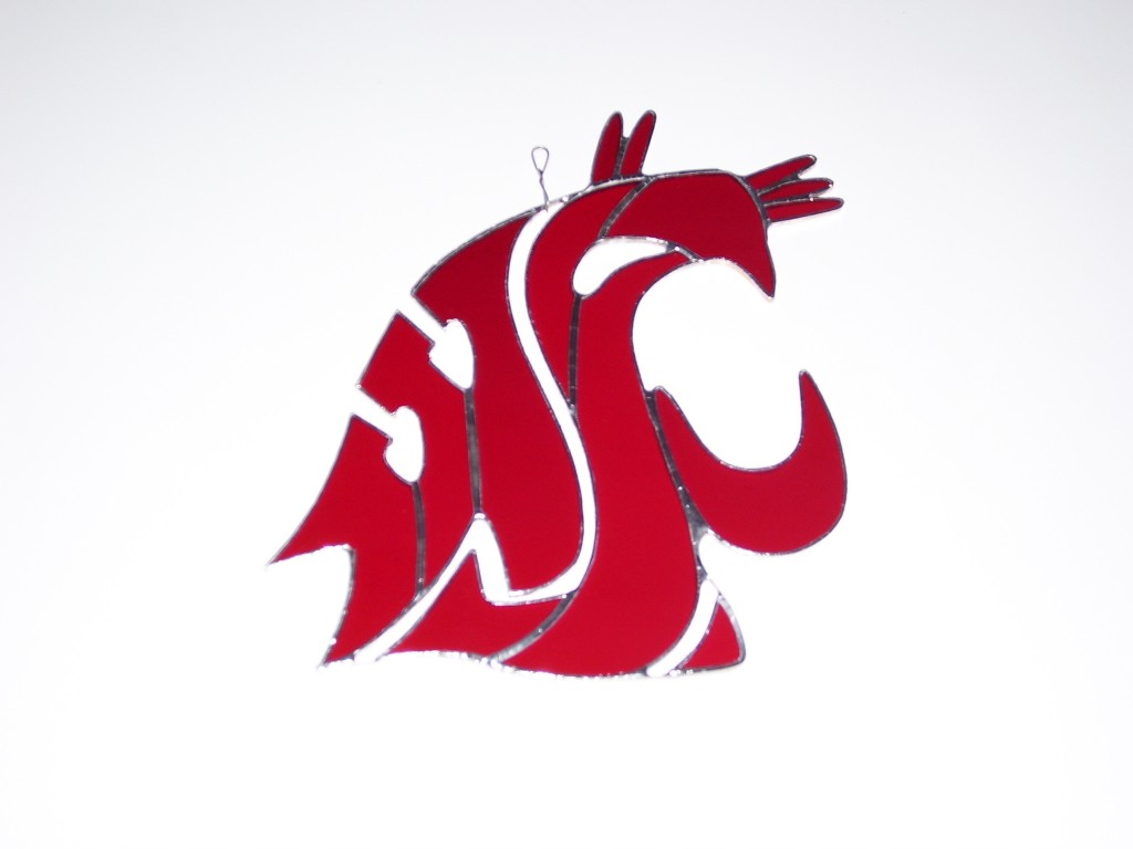 glass hanger for the Washington State University Cougars Go Cougs 1024x768