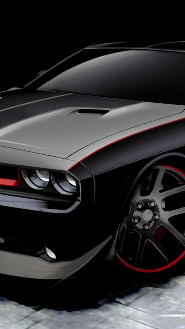 Dodge Challenger Wallpaper Iphone 5c wallpapers dodge 640x1136