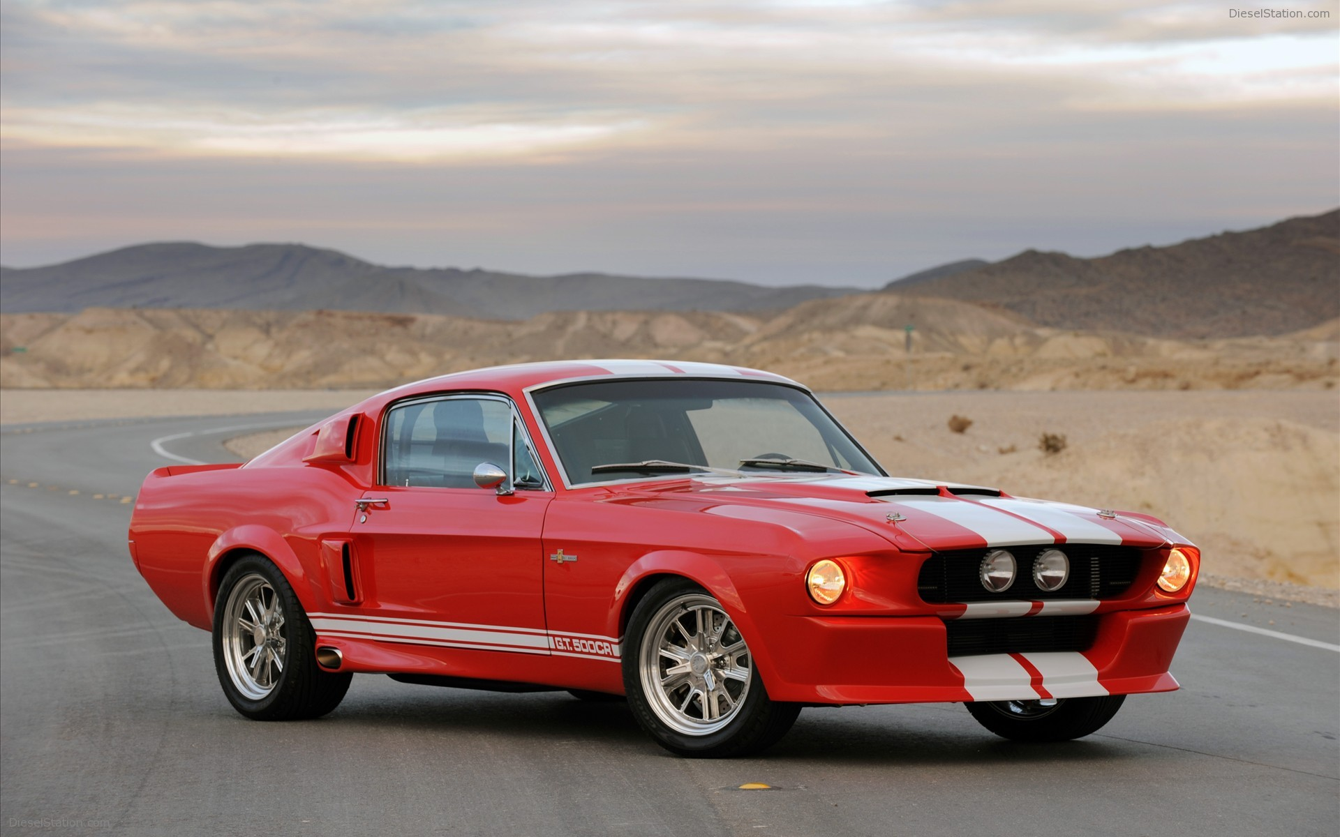 Mustang Fastback Shelby GT500CR 1967 Widescreen Exotic Car Wallpapers 1920x1200