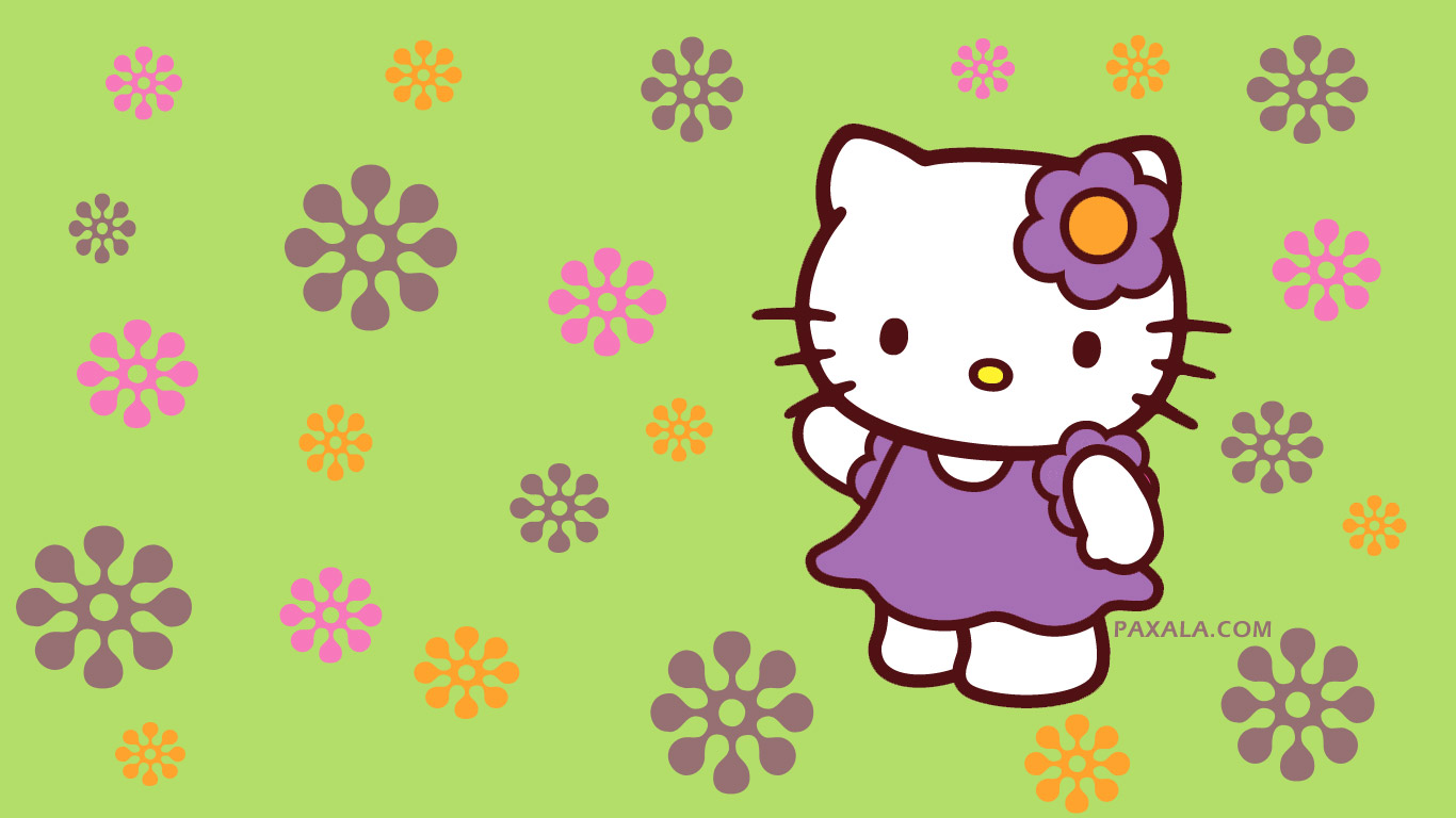 Download Green Hello Kitty Wallpaper Gallery