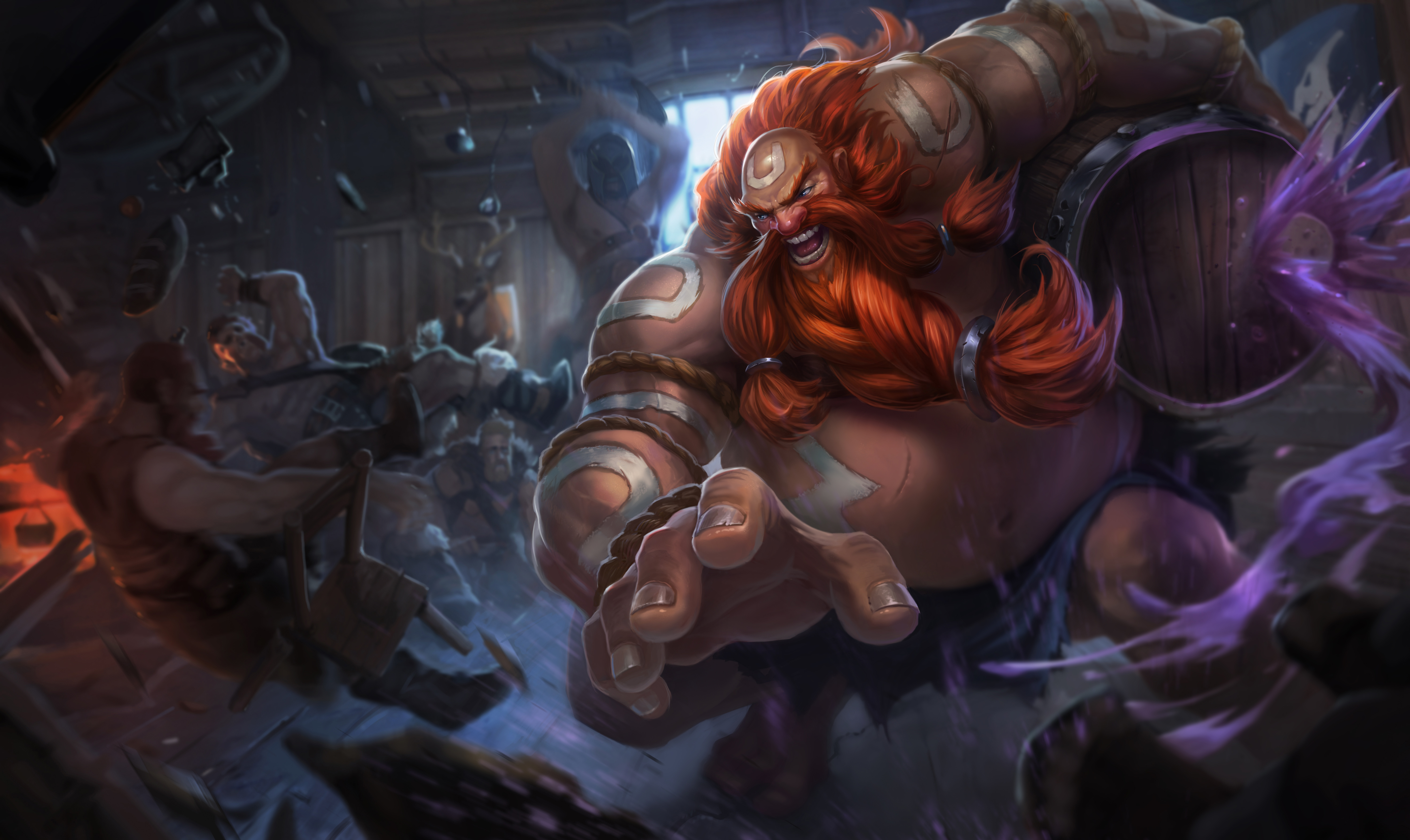 Gragas   LoL Wallpapers HD Wallpapers Artworks for League of 6000x3577