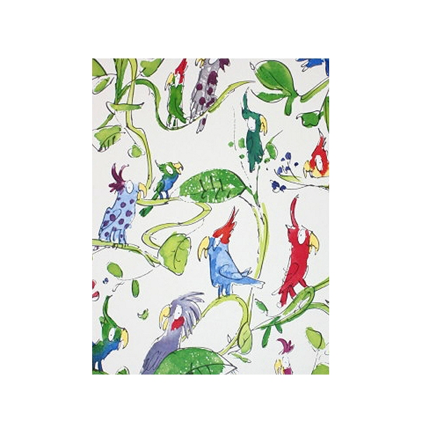 Nook Cranny Spring theme bird wallpaper 600x615