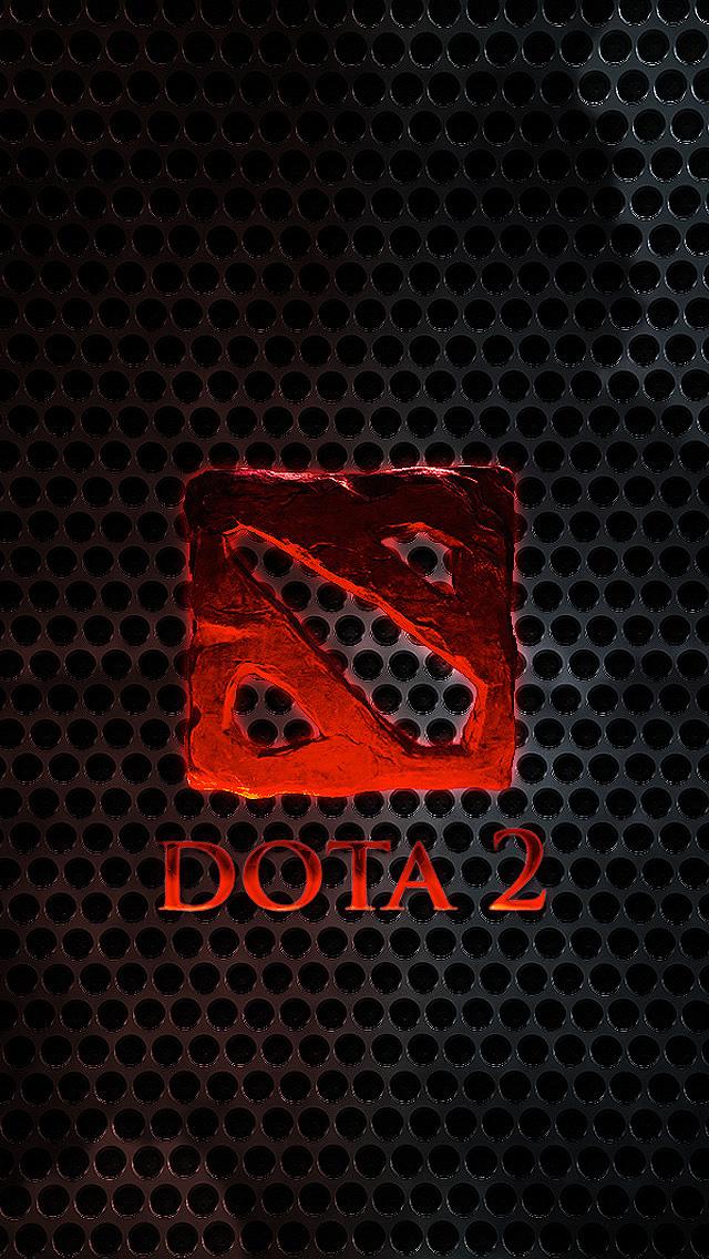 Dota 2 Logo Mobile Wallpaper Bbf0