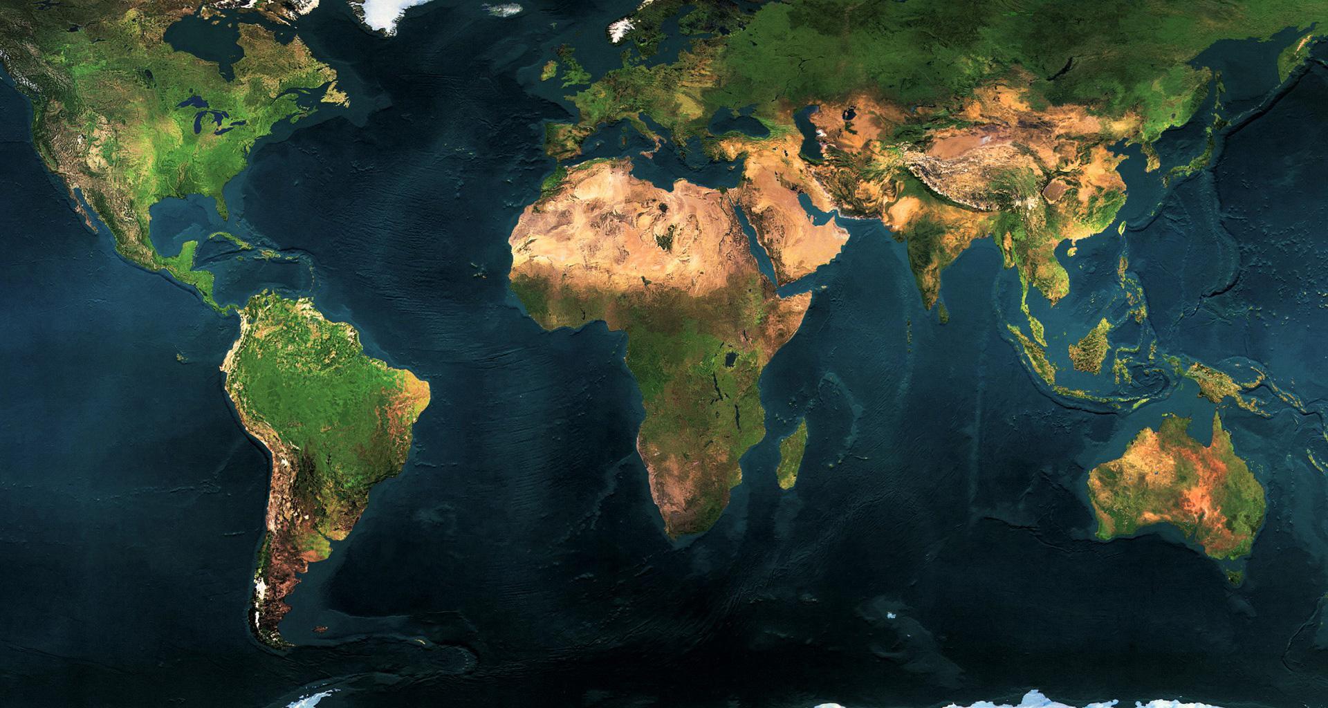 74 World Map Wallpaper High Resolution On Wallpapersafari